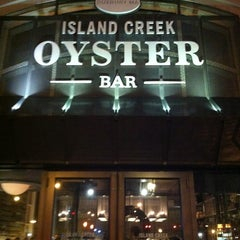 Photo taken at Island Creek Oyster Bar by Cara on 12/29/2012