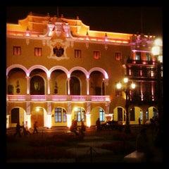 Photo taken at Plaza Mayor de Lima by Josë (. on 10/11/2012