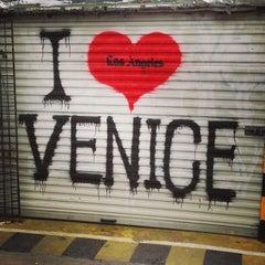Photo taken at Venice Beach Boardwalk by Sebastien C. on 12/26/2012