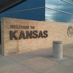 Photo taken at Kansas Travel Information Center by William M. on 6/6/2013