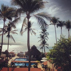 Photo taken at Vallarta Torre Resort Puerto Vallarta by Andrew B. on 2/1/2014