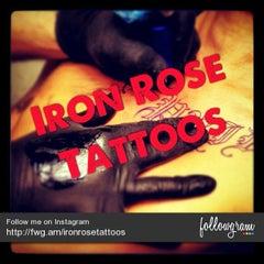 Photo taken at Iron Rose Tattoos by Iron Rose Tattoos on 12/5/2012