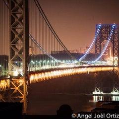 Photo taken at George Washington Bridge by Angel O. on 2/15/2013
