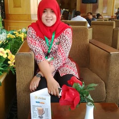 Photo taken at Madani Hotel by Anggie A. on 10/17/2014