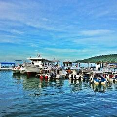 Photo taken at Jesselton Point by shanellangel . on 12/28/2012