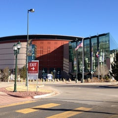 Photo taken at Pepsi Center by Eric S. on 2/16/2013