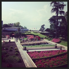 Photo taken at Hilton Evian-les-Bains by Lindsay D. on 7/13/2013