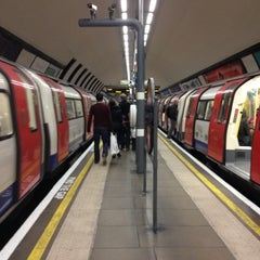 Photo taken at Clapham North London Underground Station by Rê :. on 10/7/2012