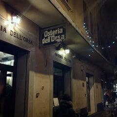 Foto scattata a Osteria dell'Orsa da Alessandro P. il 11/27/2012