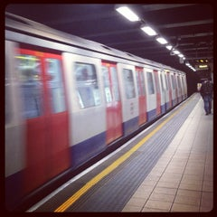 Photo taken at Euston Square London Underground Station by 26893454 on 9/16/2012