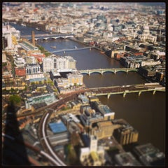 Photo taken at The Shard by Nima A. on 5/6/2013