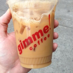 Photo taken at Gimme! Coffee by Tyler B. on 5/7/2013