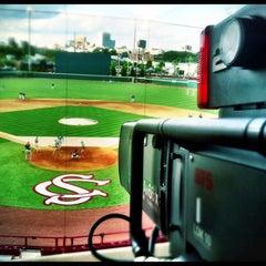 Photo taken at Carolina Stadium by Christian B. on 5/10/2013