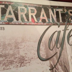 Photo taken at Tarrant's Cafe by Lynn W. on 5/12/2013