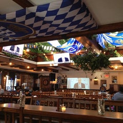Photo taken at Hofbräu Bierhaus NYC by Adam D. on 2/9/2013