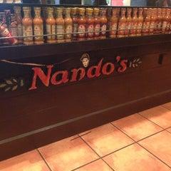 Photo taken at Nando's by Bob on 10/30/2014