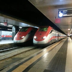Photo taken at Stazione Roma Termini by Davide D. on 1/15/2013