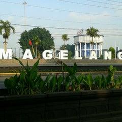 Photo taken at Alun - Alun Kota Magelang by Diah W. on 4/29/2013