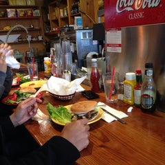 Photo taken at Sparky's Giant Burgers by Andrew D. on 11/4/2013