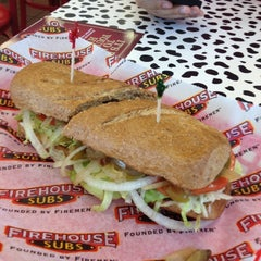 Photo taken at Firehouse Subs by Rohit A. on 9/28/2012