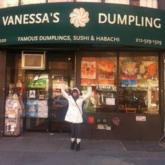 Photo taken at Vanessa's Dumpling House by Vanessa V. on 3/4/2013
