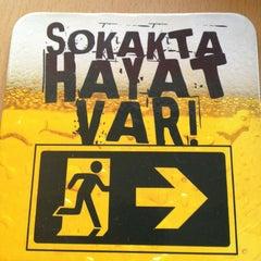 Photo taken at Bands Cafe & Pub by Erkin Ö. on 3/18/2013