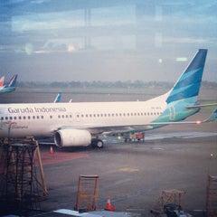 Photo taken at Gate F3 by Pandu C. on 12/18/2012