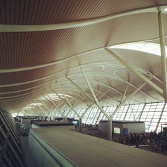 Photo taken at 上海浦东国际机场 Shanghai Pudong Int'l Airport (PVG) by TripOrTreats.com on 5/13/2013