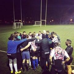 "Photo taken at Stadionul Național de Rugby ""Arcul de Triumf"" by Horia U. on 4/3/2015"