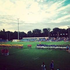 "Photo taken at Stadionul Național de Rugby ""Arcul de Triumf"" by Horia U. on 6/17/2015"