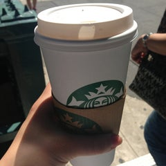 Photo taken at Starbucks by Evie A. on 6/19/2013