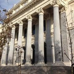 Photo taken at Bolsa de Madrid by Domingo R. on 12/13/2012