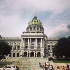 Photo taken at Pennsylvania State Capitol Building by Глеб М. on 7/2/2013