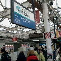 Photo taken at 西武新宿駅 (Seibu-Shinjuku Sta.) (SS01) by Tadashi H. on 2/22/2013