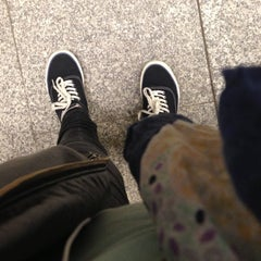Photo taken at Metro Ursynów by Zolcia on 5/11/2013