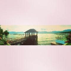 Photo taken at Danau Maninjau by Jozz G. on 6/22/2014