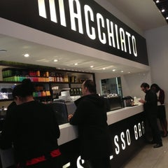 Photo taken at Macchiato Espresso Bar by Wan-Ling T. on 2/14/2013
