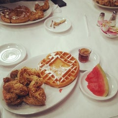 Photo taken at Ma Momma's House of Cornbread, Chicken & Waffles by Lance C. on 7/18/2014