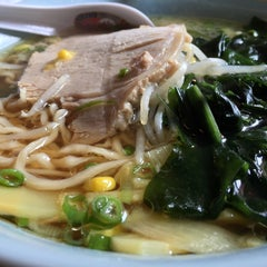 Photo taken at Toshi's Ramen by Stacy M. on 4/26/2015