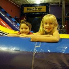 Photo taken at Pump It Up by Kathye R. on 10/8/2012