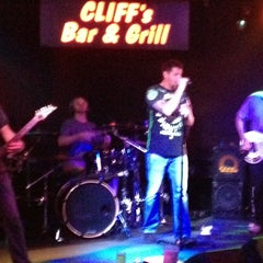 Photo taken at Cliff's Bar And Grill by Kenny H. on 8/16/2015
