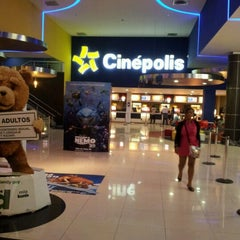 Photo taken at Cinépolis by Antonio V. on 9/25/2012
