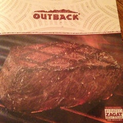Photo taken at Outback Steakhouse by James on 7/14/2013