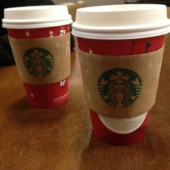 Photo taken at Starbucks by Jen R. on 12/8/2012