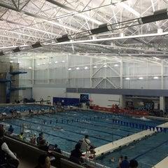 Photo taken at Greensboro Aquatic Center by Jay B. on 3/6/2015