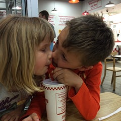 Photo taken at Five Guys by Glen on 4/25/2014