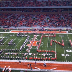 Photo taken at Memorial Stadium by Dave M. on 9/22/2012