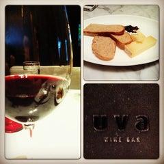 Photo taken at Uva Wine & Cocktail Bar by Aldrich B. on 5/12/2013