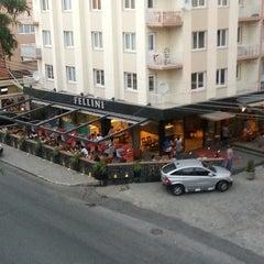 Photo taken at Cafe Fellini by Mustafa JJ O. on 7/13/2013