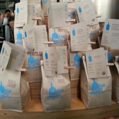 Photo taken at Blue Bottle Coffee by TheYumYum F. on 12/12/2012